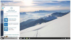 Windows 10 PC Cortana