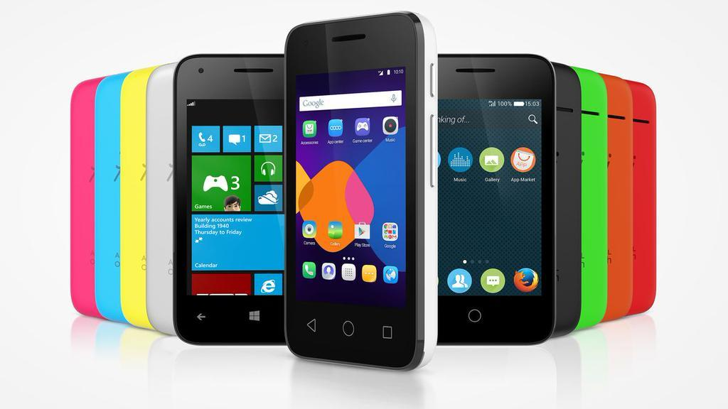 alcatel pixi 3_windows phone android