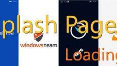 [Desenvolvimento] Como criar uma Splash Screen Page com ações em background