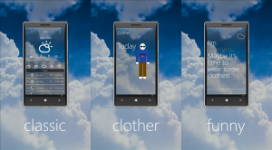 weather premium app windows phone