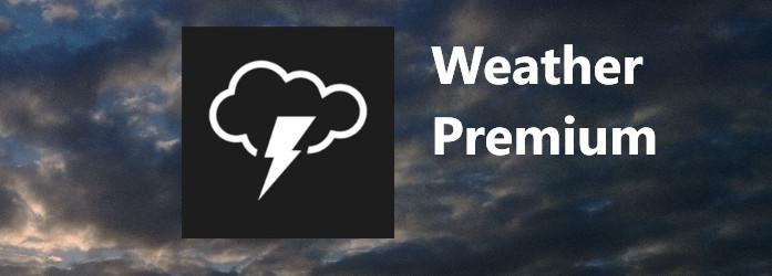weather premium app windows phone header