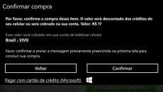 Clientes da operadora Vivo também já podem fazer compras via fatura na Windows Phone Store