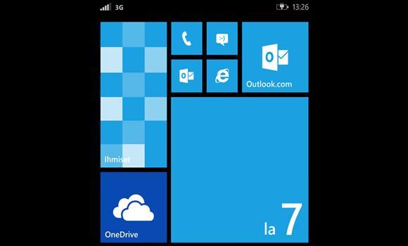 Screenshots de suposto Lumia 1330 vazam e mostram novos tamanhos de Tiles