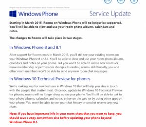 clubs windows phone email microsoft