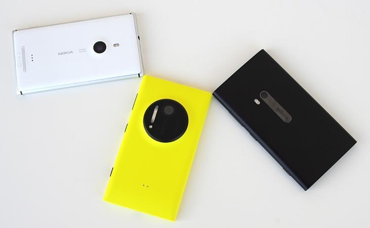 Lumia 925, 1020 e o 920 juntos