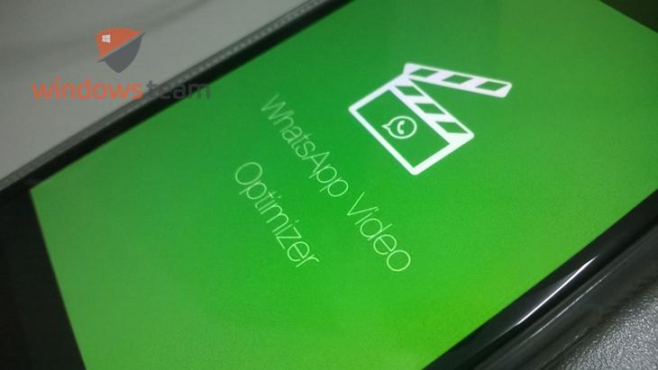 whatsapp video optimizer windows phone