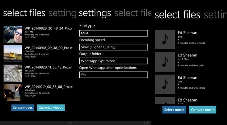 whatsappvideooptimizer windows phone