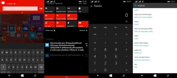 windows 10 smartphones screen shot