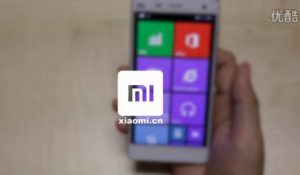 Xiaomi Mi4 com Windows 10
