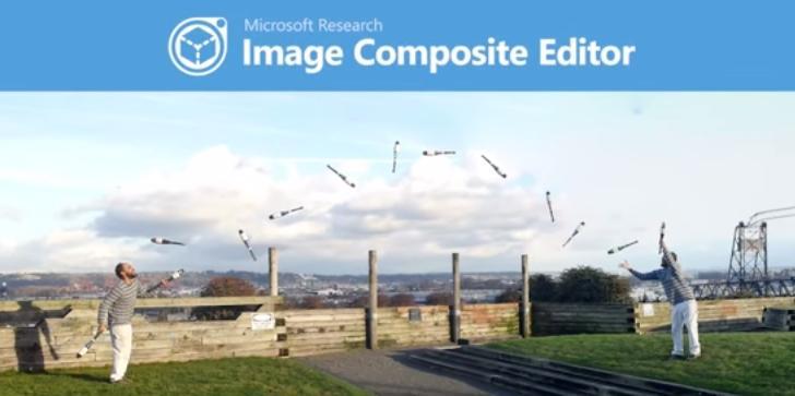 image composite editor Microsoft Research