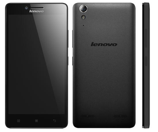Exemplo de smartphone da LENOVO