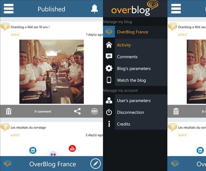 overblog windows phone
