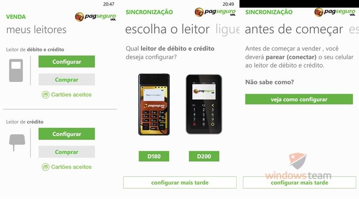 pagseguro windows phone 1