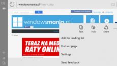 Imagens do navegador Spartan para smartphones surgem na web e revelam novidades