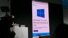 A Microsoft fez uma pequena demonstração do navegador Spartan rodando em um smartphone