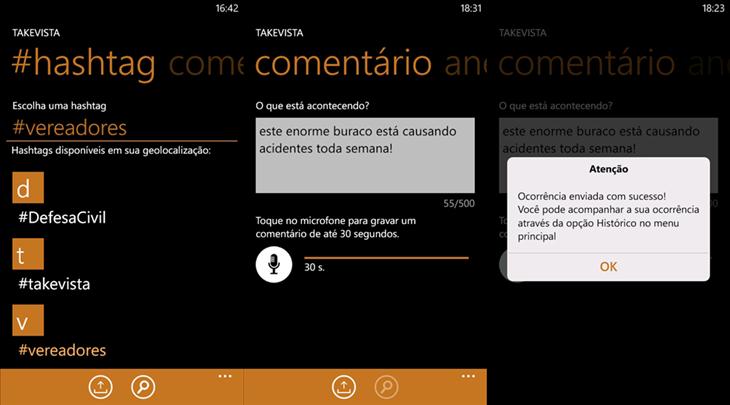 takevista windows phone 1