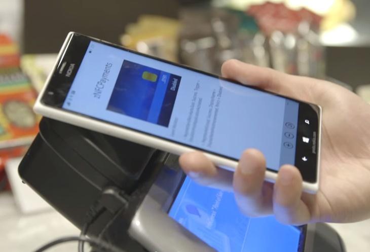 tap to pay windows 10 lumia