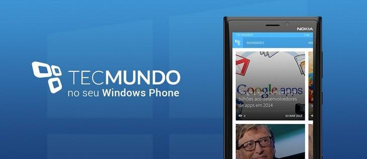 tecmundo app windows phone header