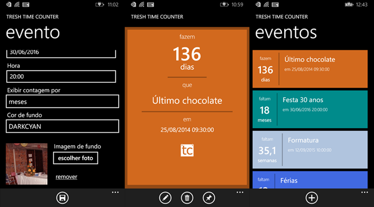 Tresh Time Counter windows phone
