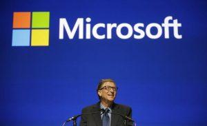 Bill Gates, fundador da Microsoft e antigo CEO da Cia.