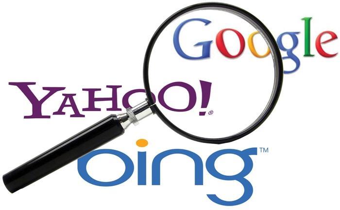 bing vs google vs yahoo search