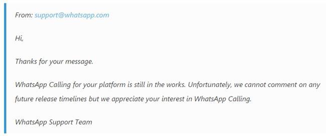 email whatsapp