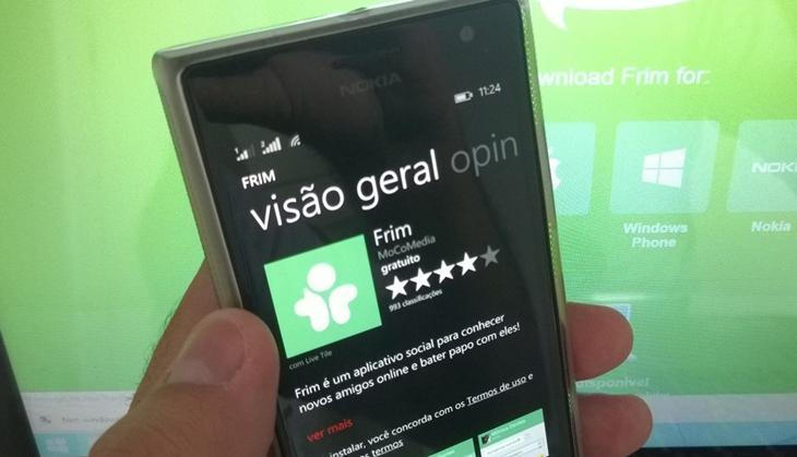 frim windows phone hgeader