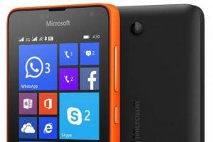 Câmera do Lumia 430 Dual SIM tem foco fixo