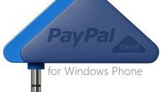 Chegou o aplicativo oficial do PayPal HERE para o Windows Phone