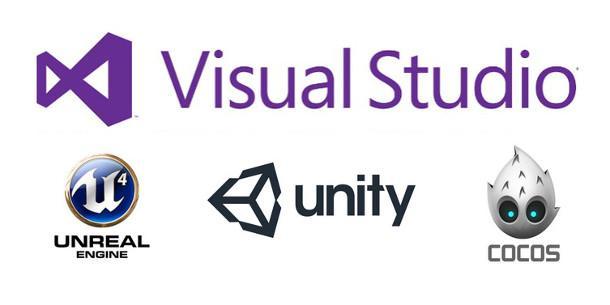visual studio microsoft unreal unity coco