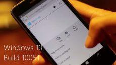 [Vídeo] Uma pequena análise da nova build 10051 do Windows 10 para smartphones em PT-BR