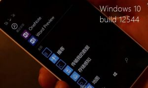 windows 10 build 12544 smartphons