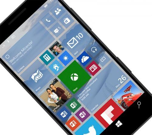 windows 10 for smartphones