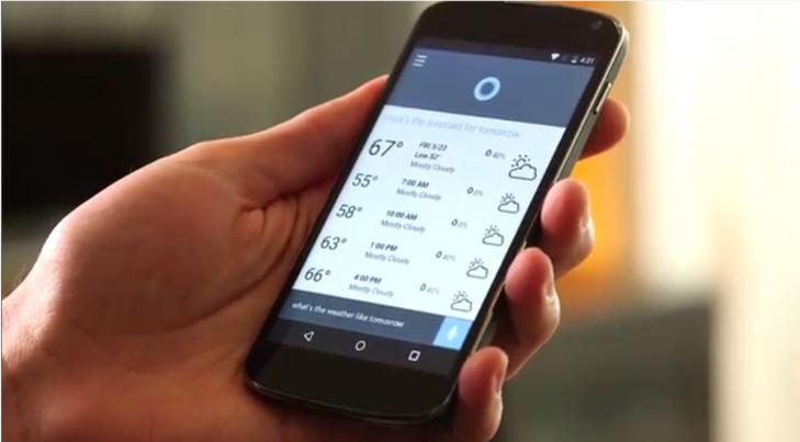 Cortana no Android é apenas um app. A ideia é torná-la integrada ao Cyanogen