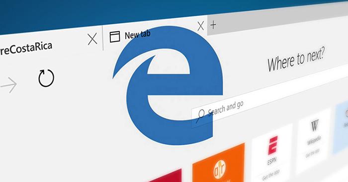 Microsoft Edge põe fim as barras de ferramentas e será muito mais seguro que o IE