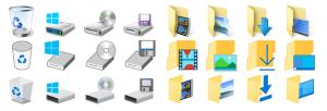 novos icones w10