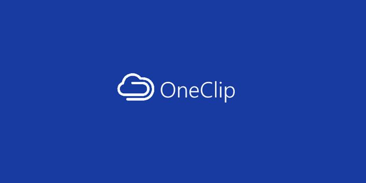 oneclip aplicativo