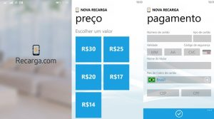 recarga com windows phone 2