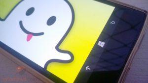 snapachat app oficial windows phone