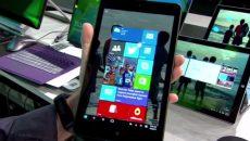 Assim será o modo Continuum em tablets com Windows 10 com telas menores que 9 polegadas