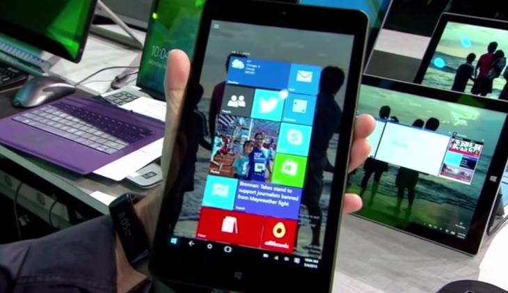 tablet 8 polegadas windows 10