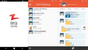 zapya windows phone