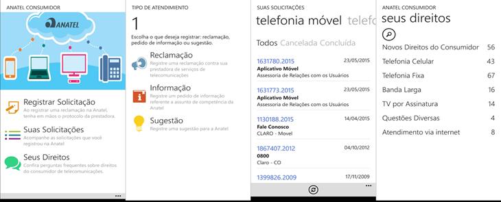 Anatel Consumidor windows phone
