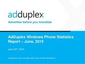 adduplex windows phone junho 2015 img1