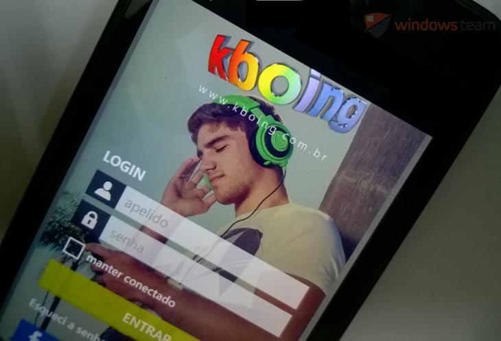 Chegou o app oficial do Kboing para o Windows Phone