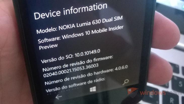 review build 10149 windows 10 mobile