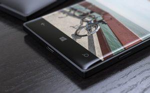 Conceito de um Lumia 950