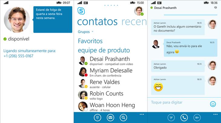 Skype for business windows phone