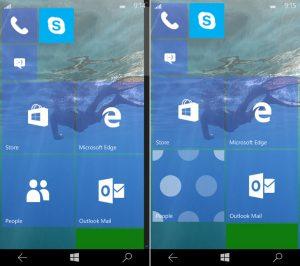 build 10158 windows 10 mobile img1