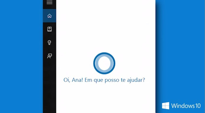 cortana em portugues brasil